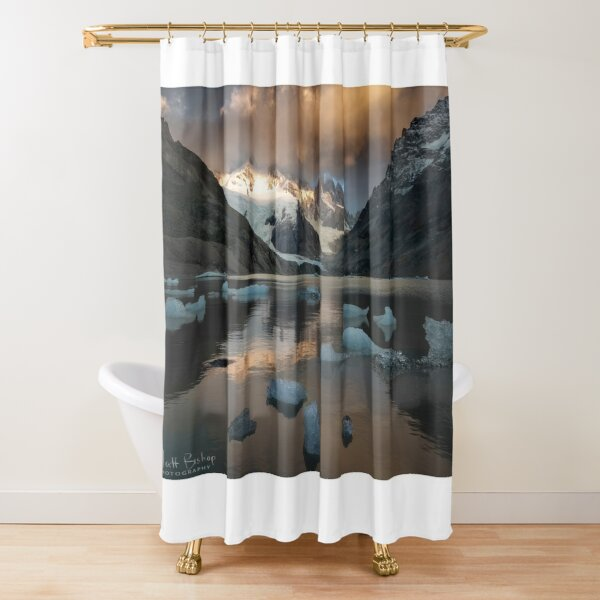 Tower Lake Shower Curtain