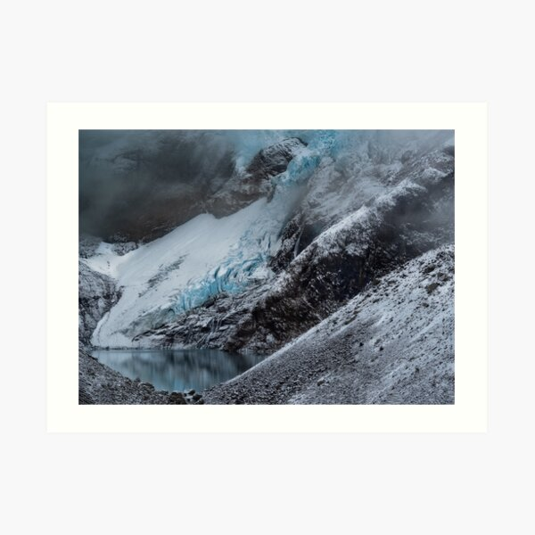Mirador Glacier Art Print