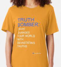 Truth Bomber - Definition - dark shirt T-shirt ajusté
