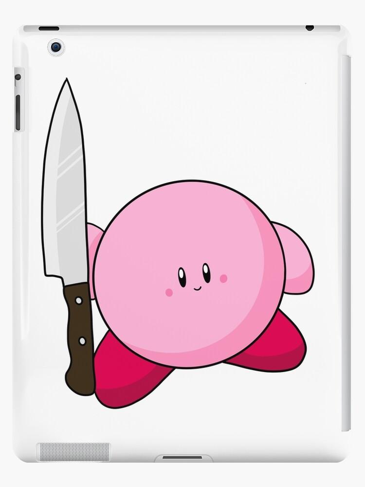 Cute Kirby Knife Ipad Case Skin By Andrw Redbubble