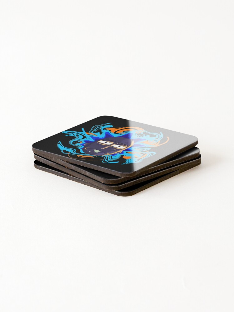 Alternate view of Rick Sanchez Trippy Coasters (Set of 4)