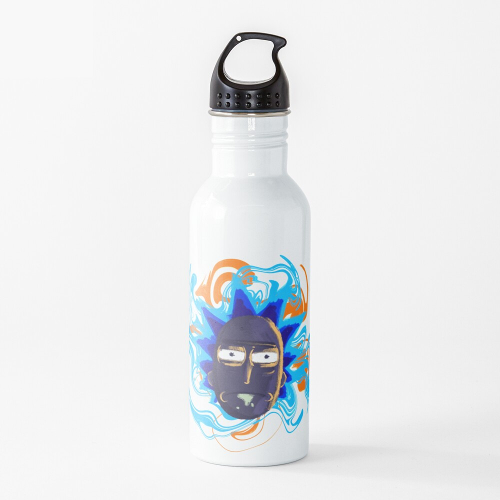 Rick Sanchez Trippy Water Bottle