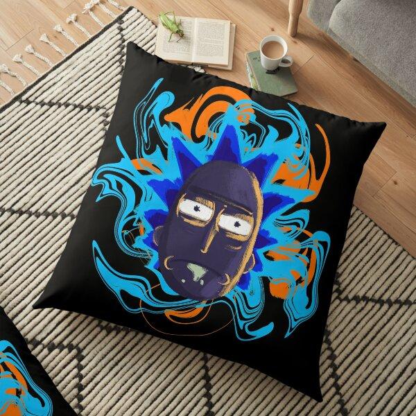 Rick Sanchez Trippy Floor Pillow