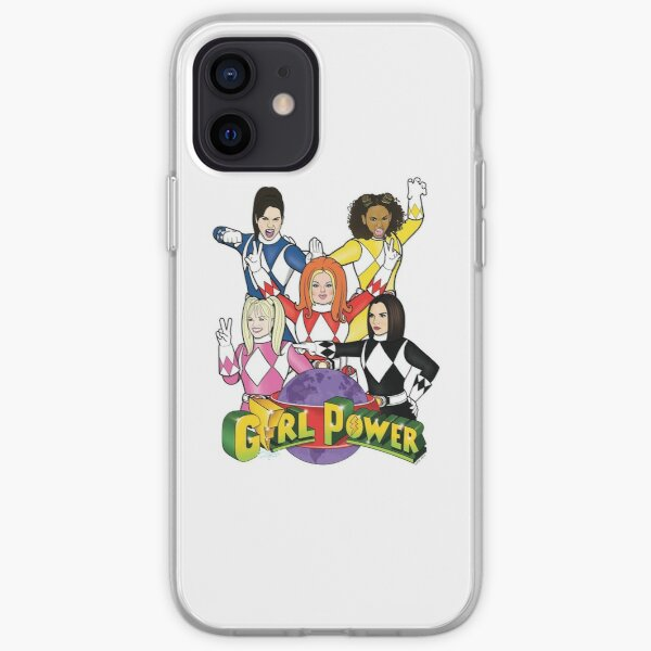 GIRL POWER RANGERS iPhone Soft Case