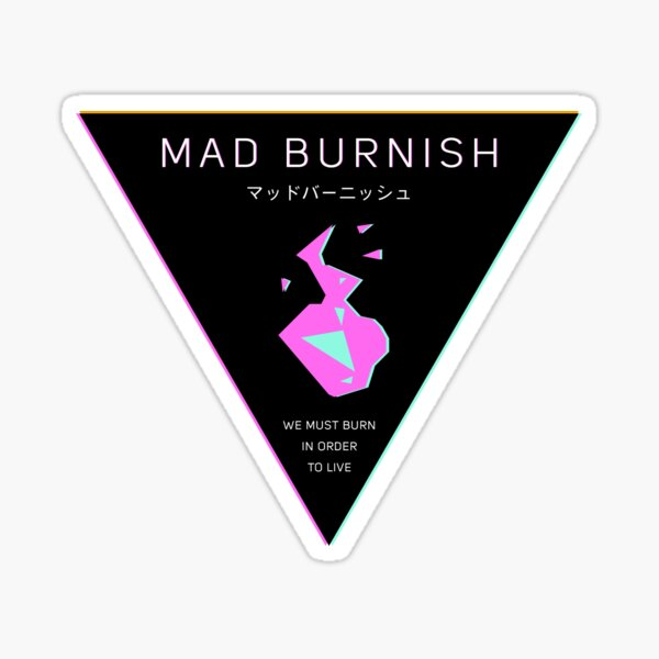 Mad Burnish Crest Sticker
