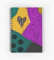Sally's New Patch Spiral Notebook