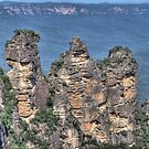 The Three Sisters, Blue Mountains, NSW, Australia (HDR) by Adrian Paul