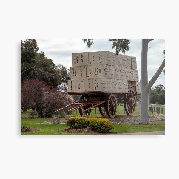 Centenary of Federation Wool Wagon Metal Print