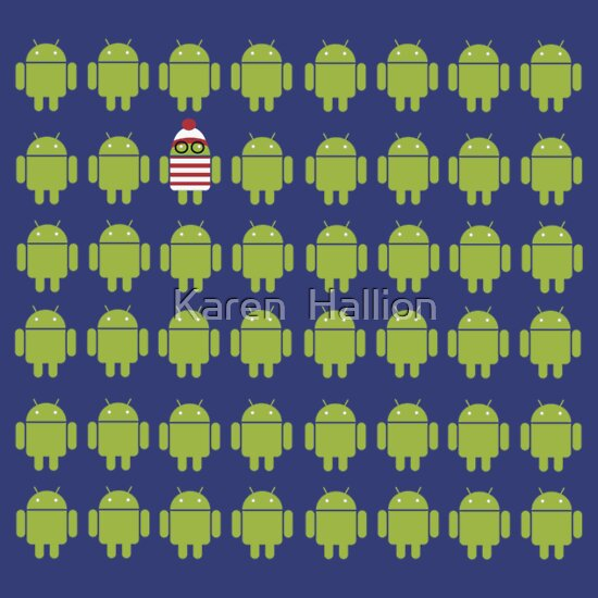 TShirtGifter presents: Where's Waldroid advanced