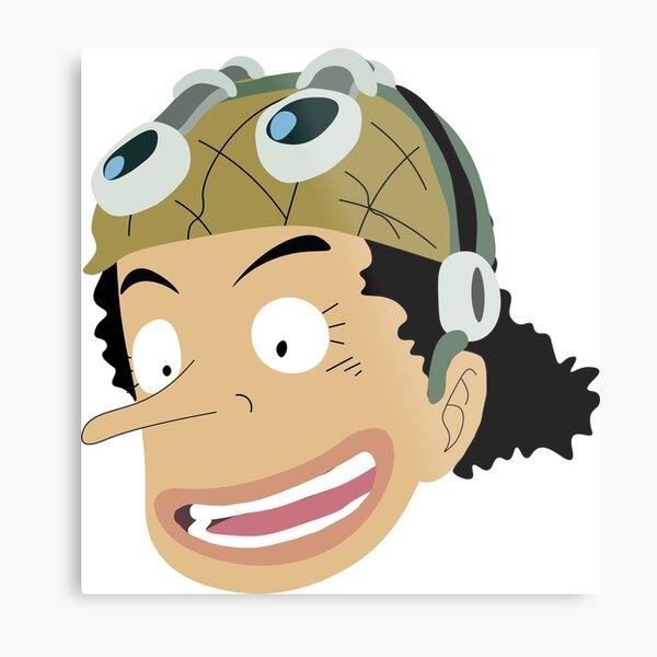 One Piece- Usopp Metal Print