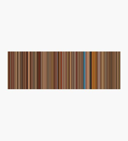 Moviebarcode: The Royal Tenenbaums (2001) [Simplified Colors] Photographic Print