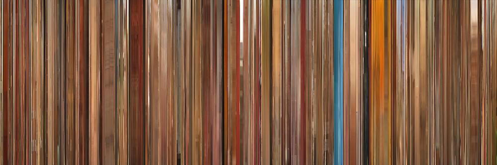 Moviebarcode: The Royal Tenenbaums (2001) by moviebarcode