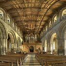 Nave, St David's Cathedral, Pembrokeshire, Wales by Bob Culshaw
