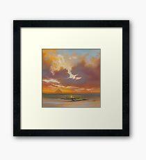 Pladda Lighthouse, Arran Framed Print
