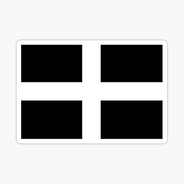 cornwall flag Sticker