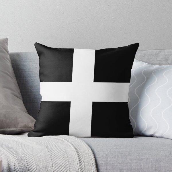cornwall flag Throw Pillow