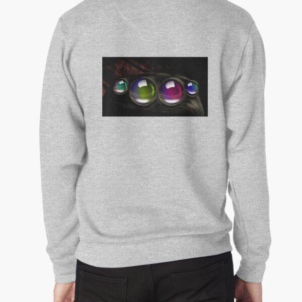 Colorful spider eyes Pullover Sweatshirt