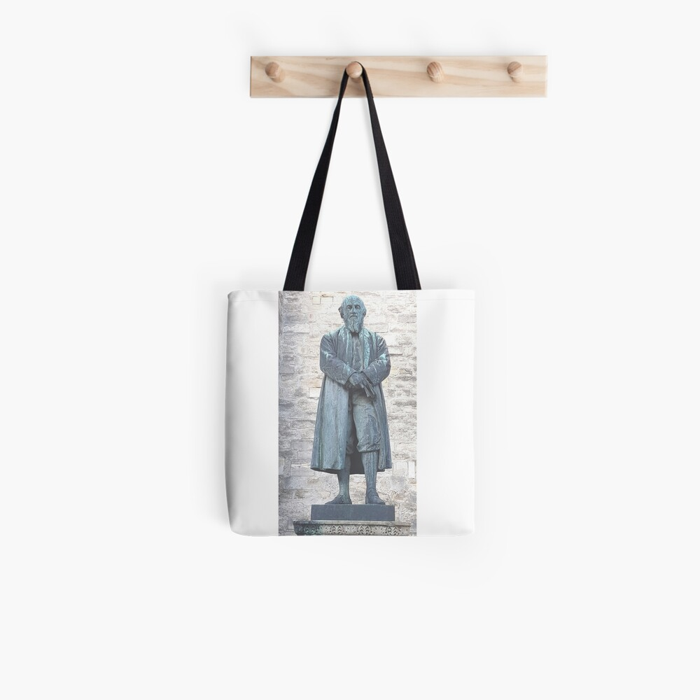 William Barnes - Poet - Statue in Dorchester Tote Bag