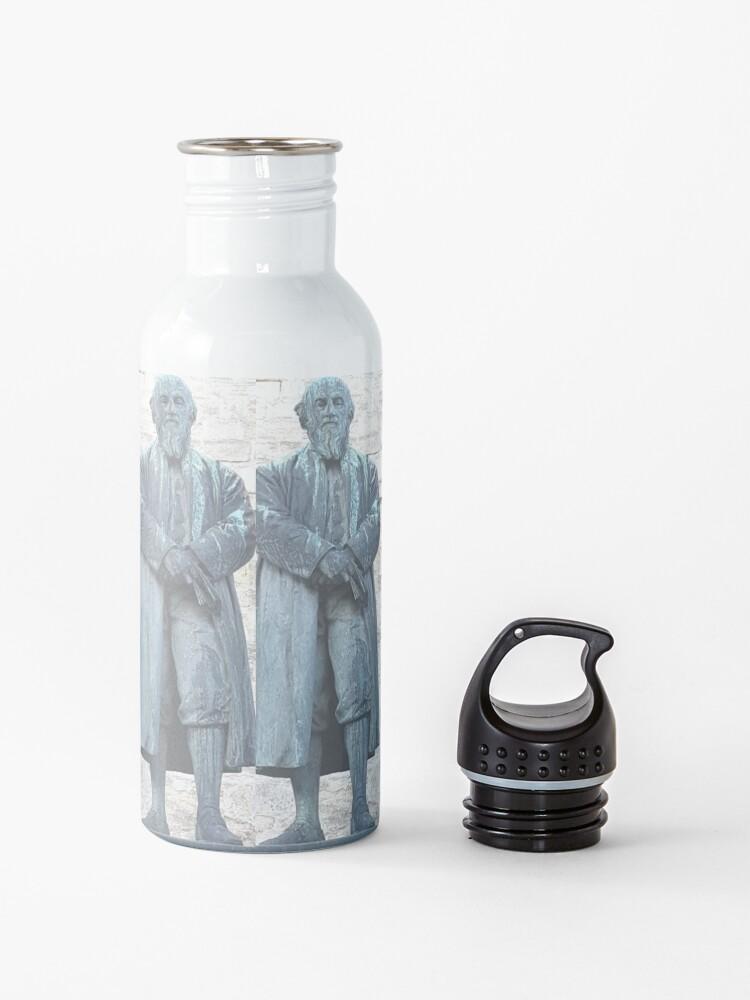 Alternate view of William Barnes - Poet - Statue in Dorchester Water Bottle