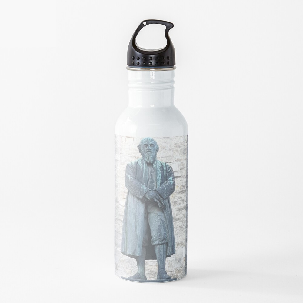 William Barnes - Poet - Statue in Dorchester Water Bottle