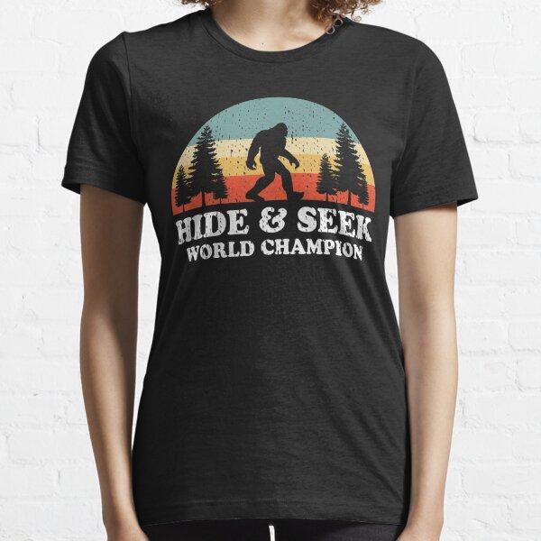Bigfoot Hide & Seek World Champion Retro Essential T-Shirt