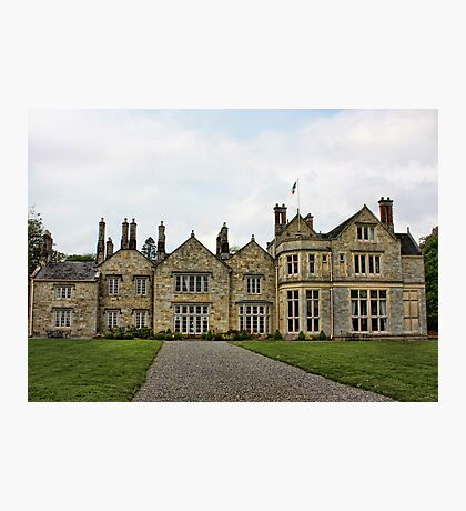 Lough Rynn Castle Photographic Print