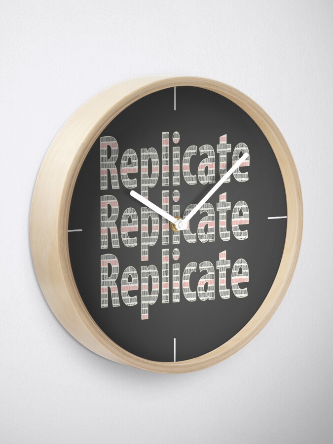 Alternate view of Replicate 3X. Clock