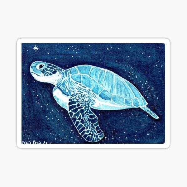 Sternenträume- Schildkröte Sticker