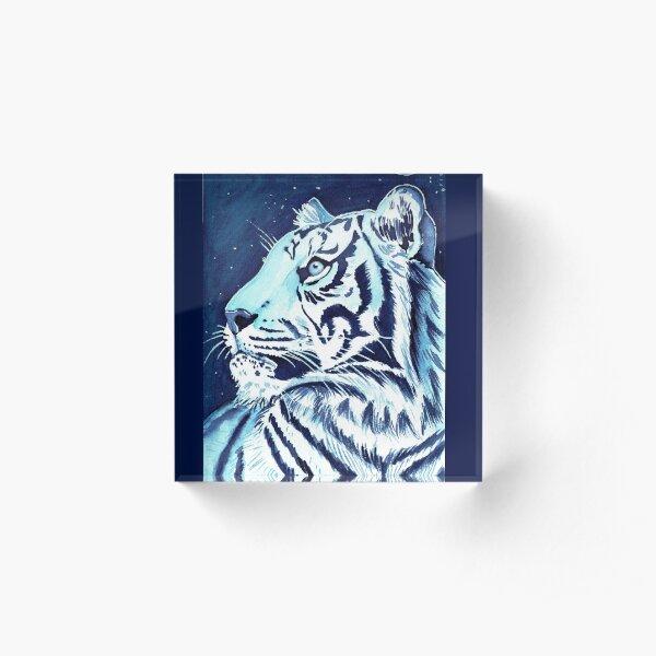 Sternenträume- Tiger  Acrylblock
