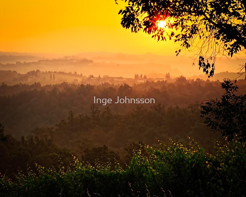San Gimignano Hills #2 by Inge Johnsson