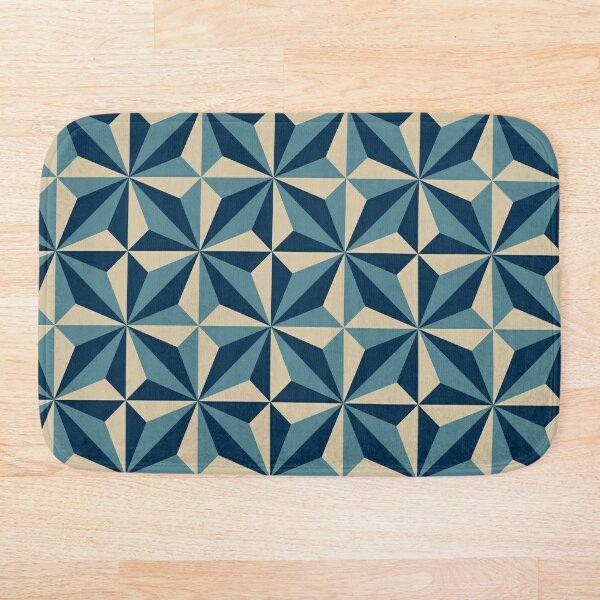 Vintage Encaustic Cement Tile Bath Mat