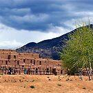 Pueblo Village by Nancy Richard