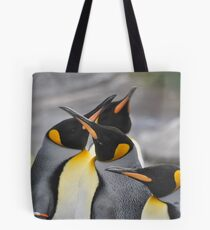 First One to Open Their Eyes is a Duck!!! Tote Bag
