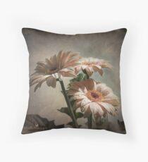 Dramatic floral Throw Pillow