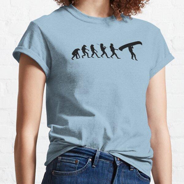 Evolution of a Canoeist Classic T-Shirt