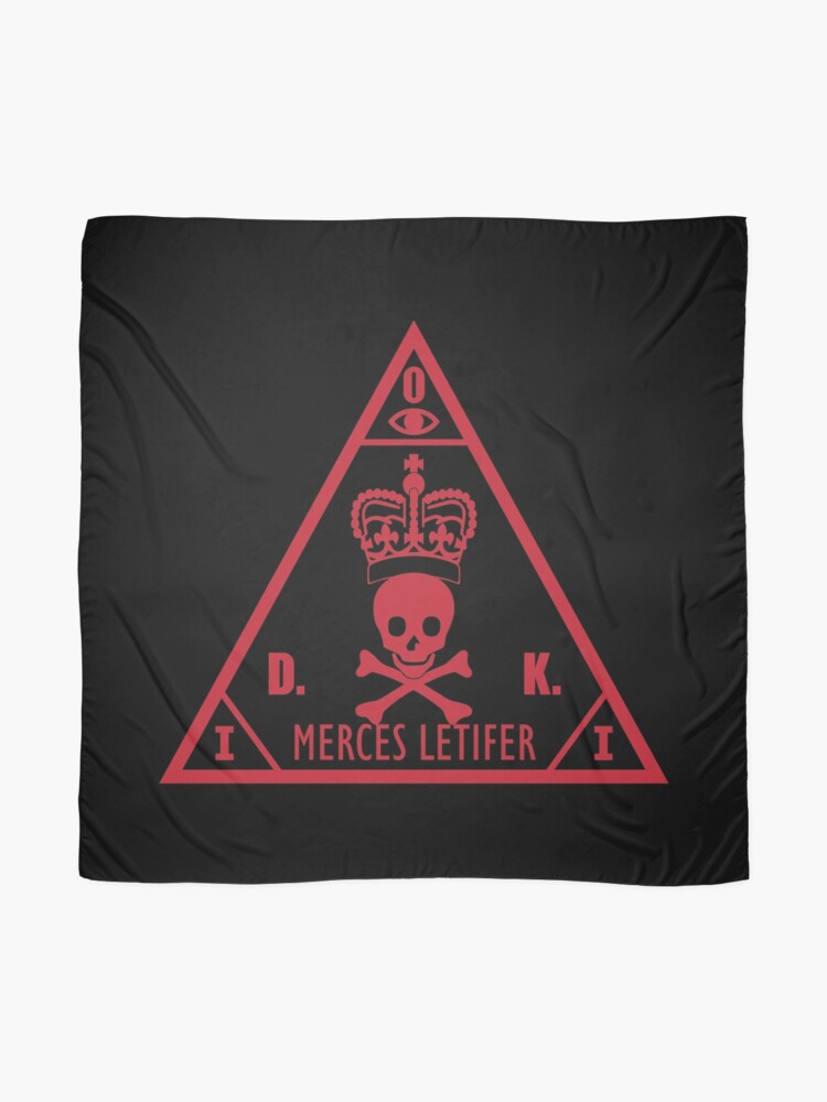 Hitman International Contract Agency Scarf By Fareast Redbubble