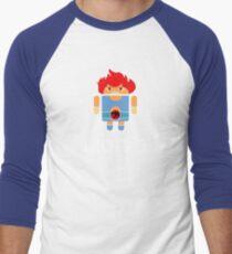 Droidarmy: Thunderdroid Lion-o Men's Baseball ¾ T-Shirt