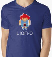Droidarmy: Thunderdroid Lion-o Men's V-Neck T-Shirt