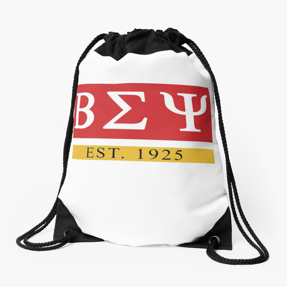 Beta Sigma Psi - Est. 1925 Drawstring Bag