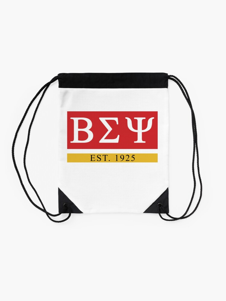 Alternate view of Beta Sigma Psi - Est. 1925 Drawstring Bag