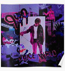 Juice WRLD art Poster