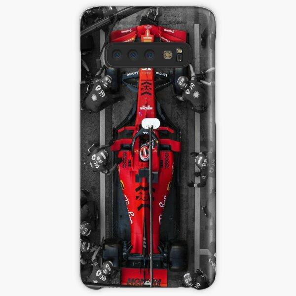 Charles Leclerc Ferrari Pit Stop Samsung Galaxy Snap Case
