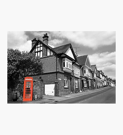 Red Telephone Box - Marlborough Photographic Print