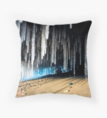 Under the Winter Sand 2 Throw Pillow