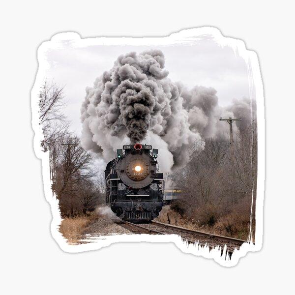 Pere Marquette Locomotive (2) Sticker