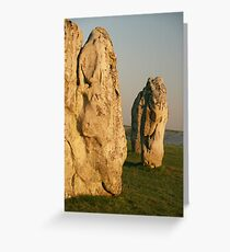Ancient Avebury Greeting Card