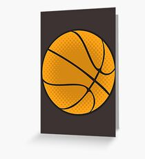 Basketball Vector Greeting Card