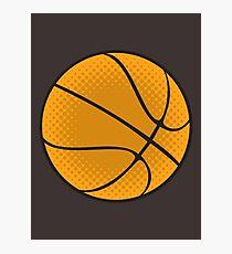 Basketball Vector Photographic Print