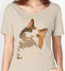 All Lives Deserve Nine Cats Women's Relaxed Fit T-Shirt