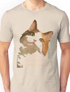 All Lives Deserve Nine Cats T-Shirt